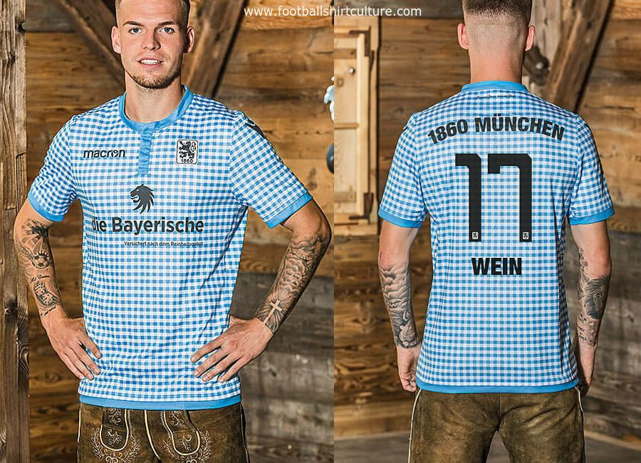 70fc518b19 This is the new 1860 München Oktoberfest kit by Macron for the 18 19  season