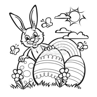 easter rabbit for coloring in  bunny coloring pages easter printables free easter bunny