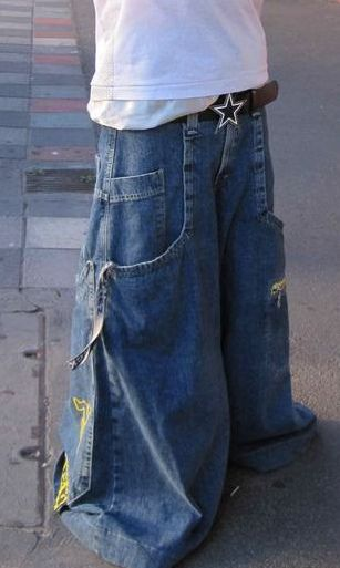 Crime Scene Jnco by Hilo boy 2, via Flickr