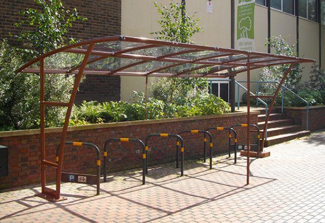 London Bike Shelter From £1,700