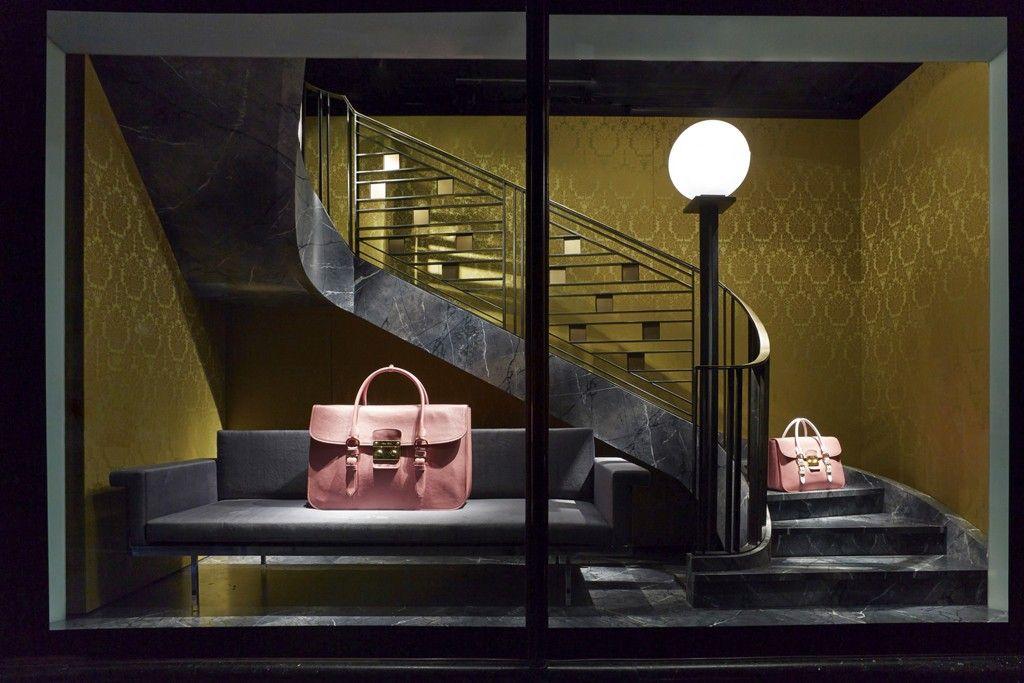 Harrods Goes In Handbag Windows
