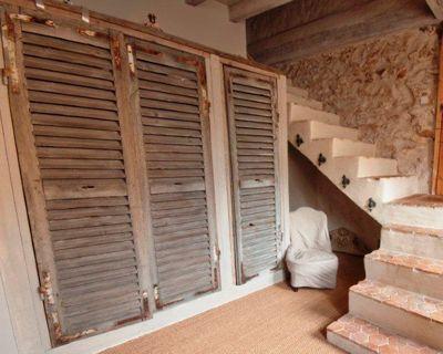 Détournement Dobjets Vieux Meubles Correspondant Et Décoration - Porte de placard originale