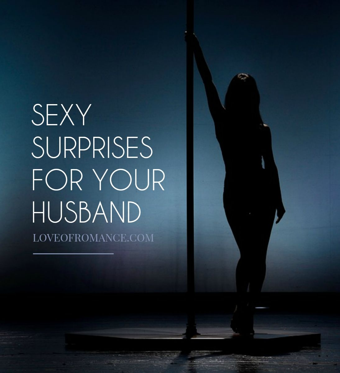 Sexy surprises for your man
