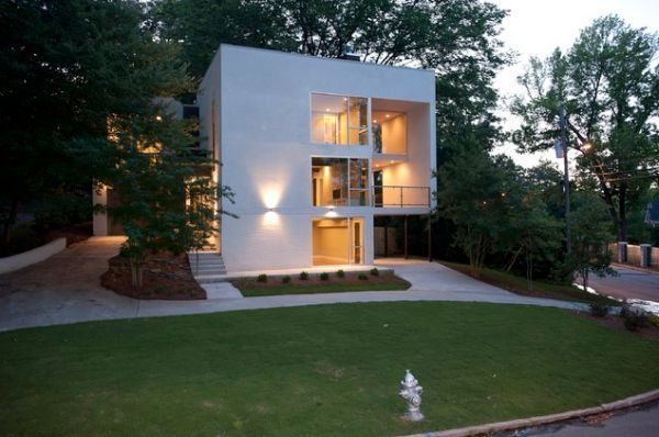 20 Modern And Contemporary Cube Shaped Houses Minimalist House