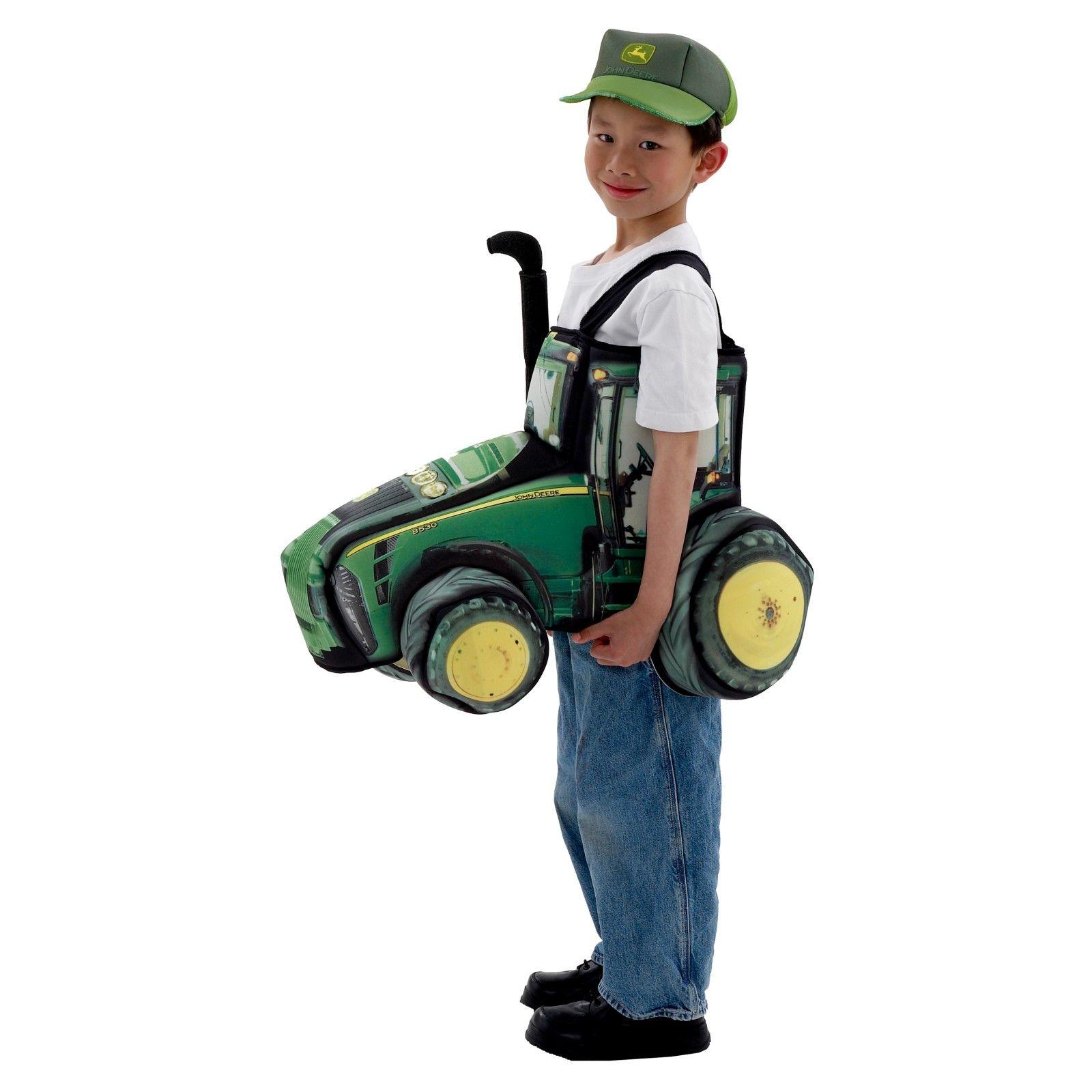 very creative john deere tractor halloween costume. | john deere