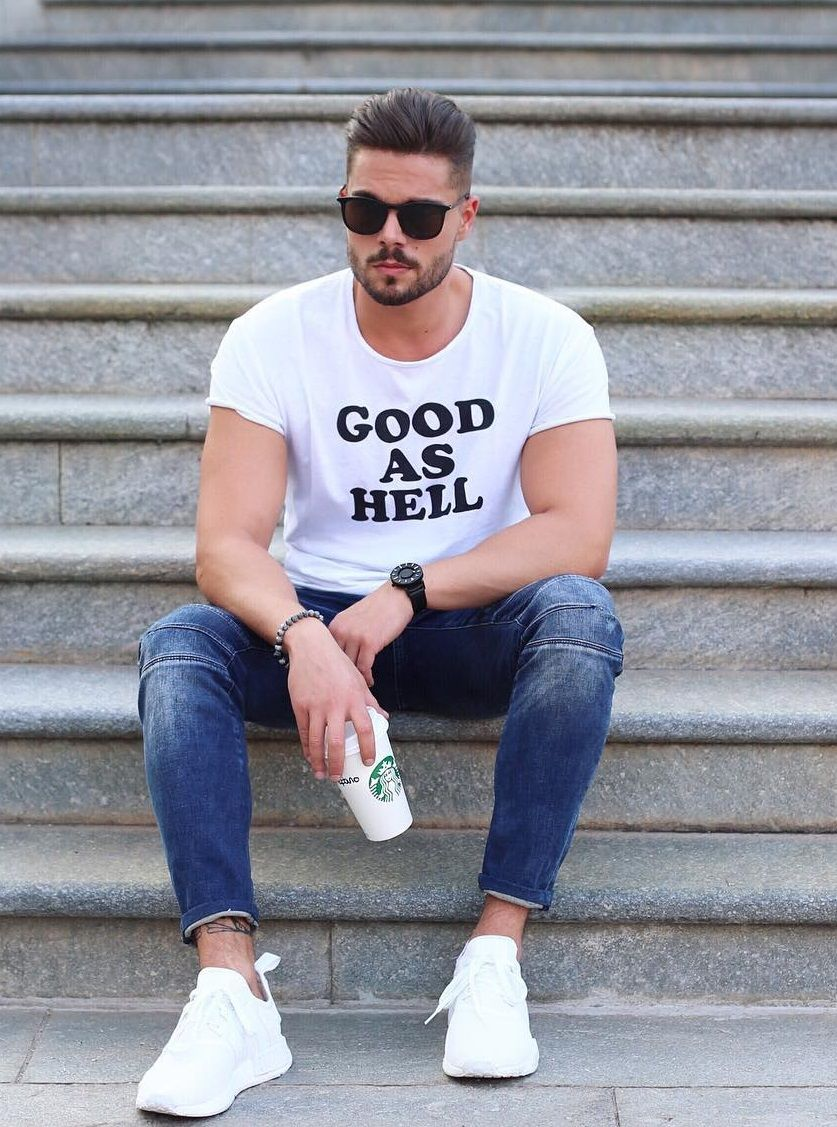 """menstylica:  """" good as hell  credit 