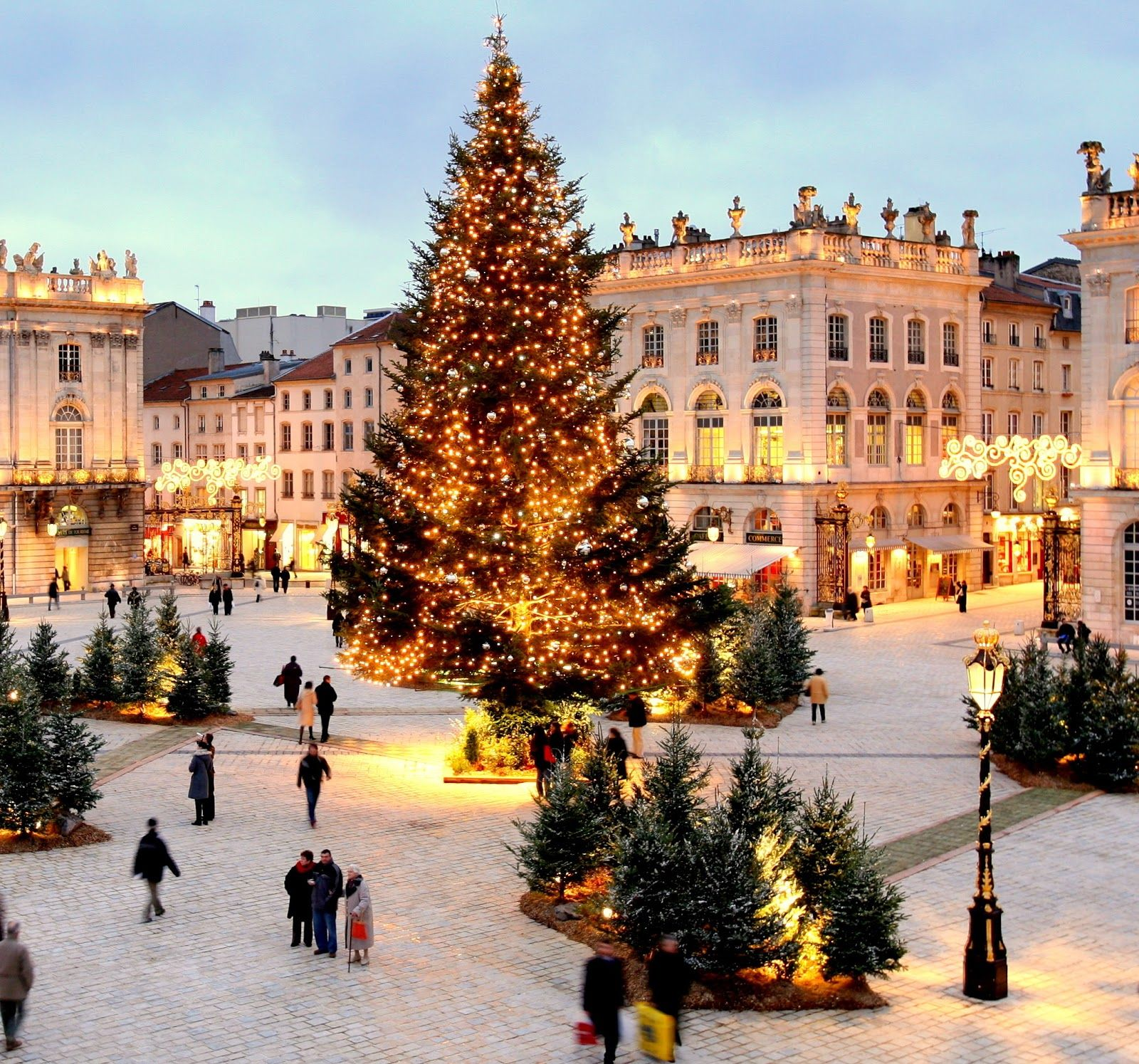 One Of My Favorite Cities Nancy France Near My Hometown And This One Of The Most Stunning Squares In Scenery Merry Little Christmas Oh The Places You Ll Go