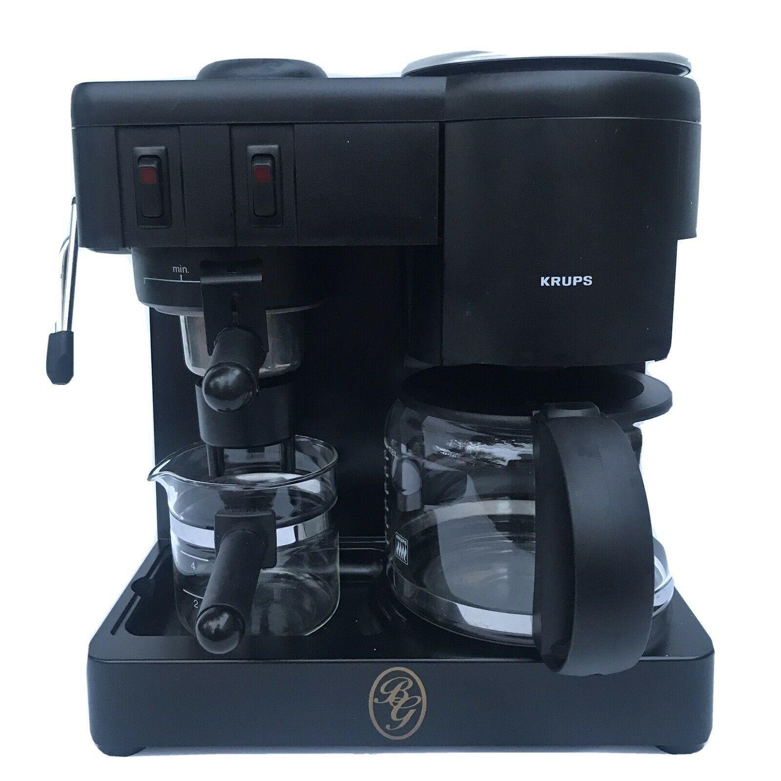 Krups 171 Cafepresso Black 8 Cups Drip Coffee Espresso Machine Tested Works Ideas Of Espresso Machine Espressomachine Espresso Machine Espresso Krups