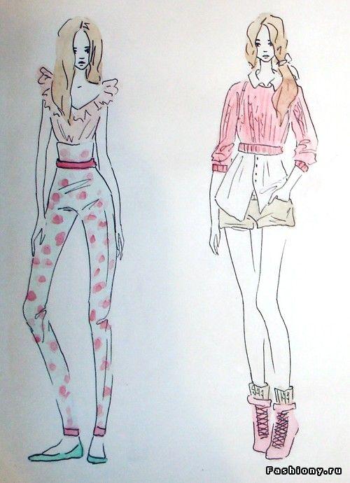 10eff292d61 Мои эскизы   как рисовать эскизы одежды
