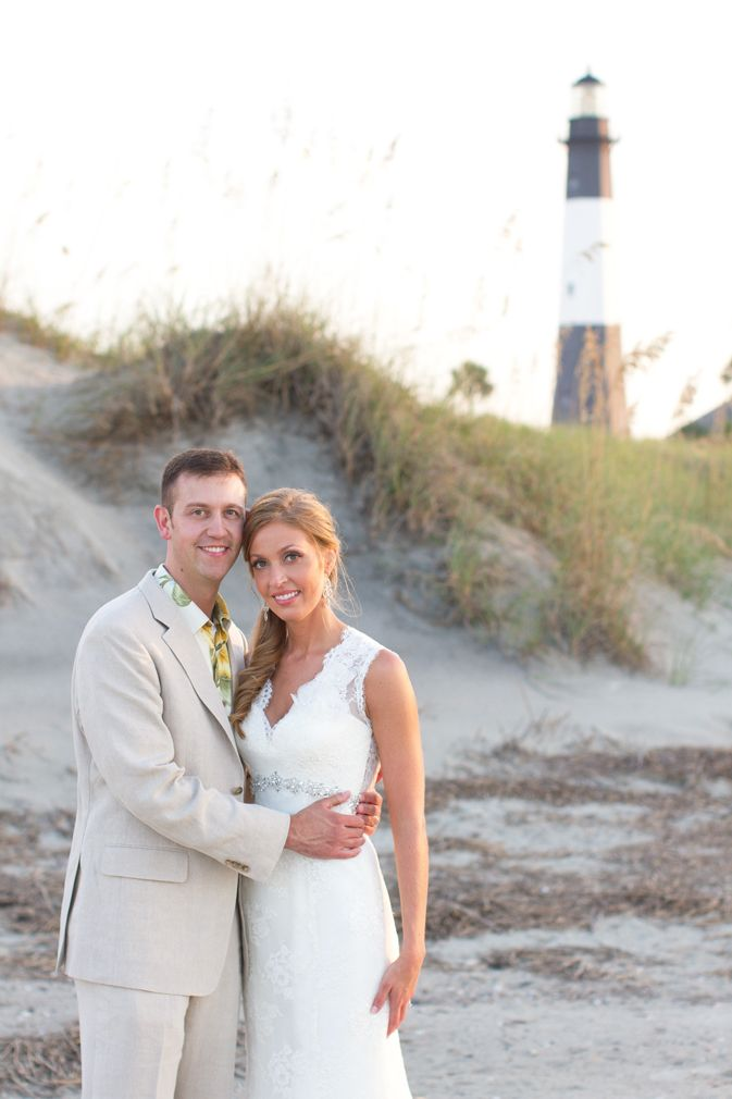 Tybee Island Wedding Love Their Attire Perfect For The Beach
