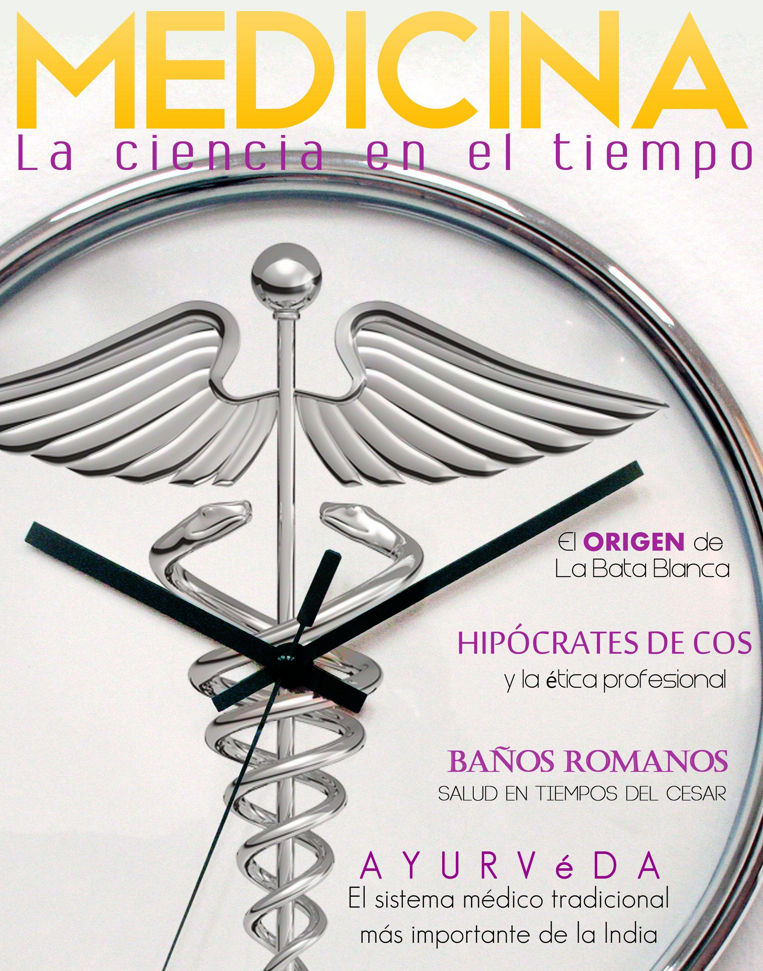 Medicina en el tiempo (portada)