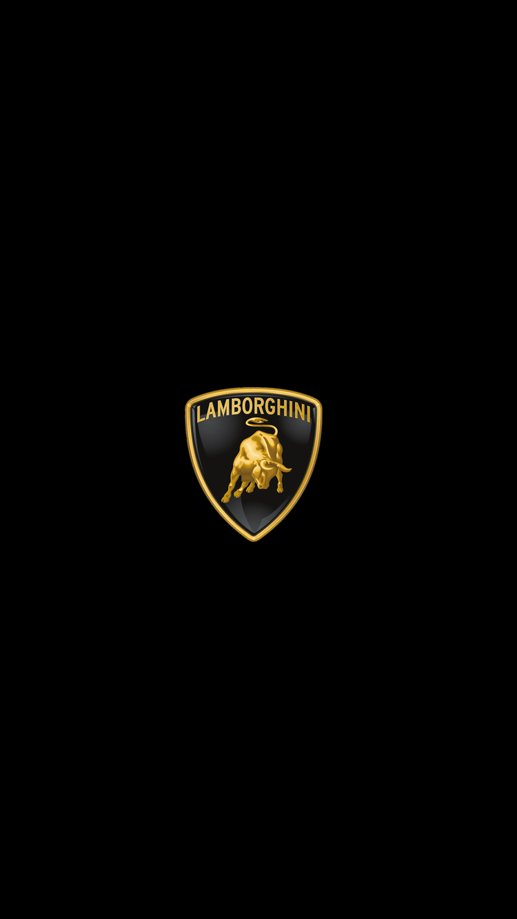 Pin By Ariz Delyn On Black Wallpaper Lamborghini Logo