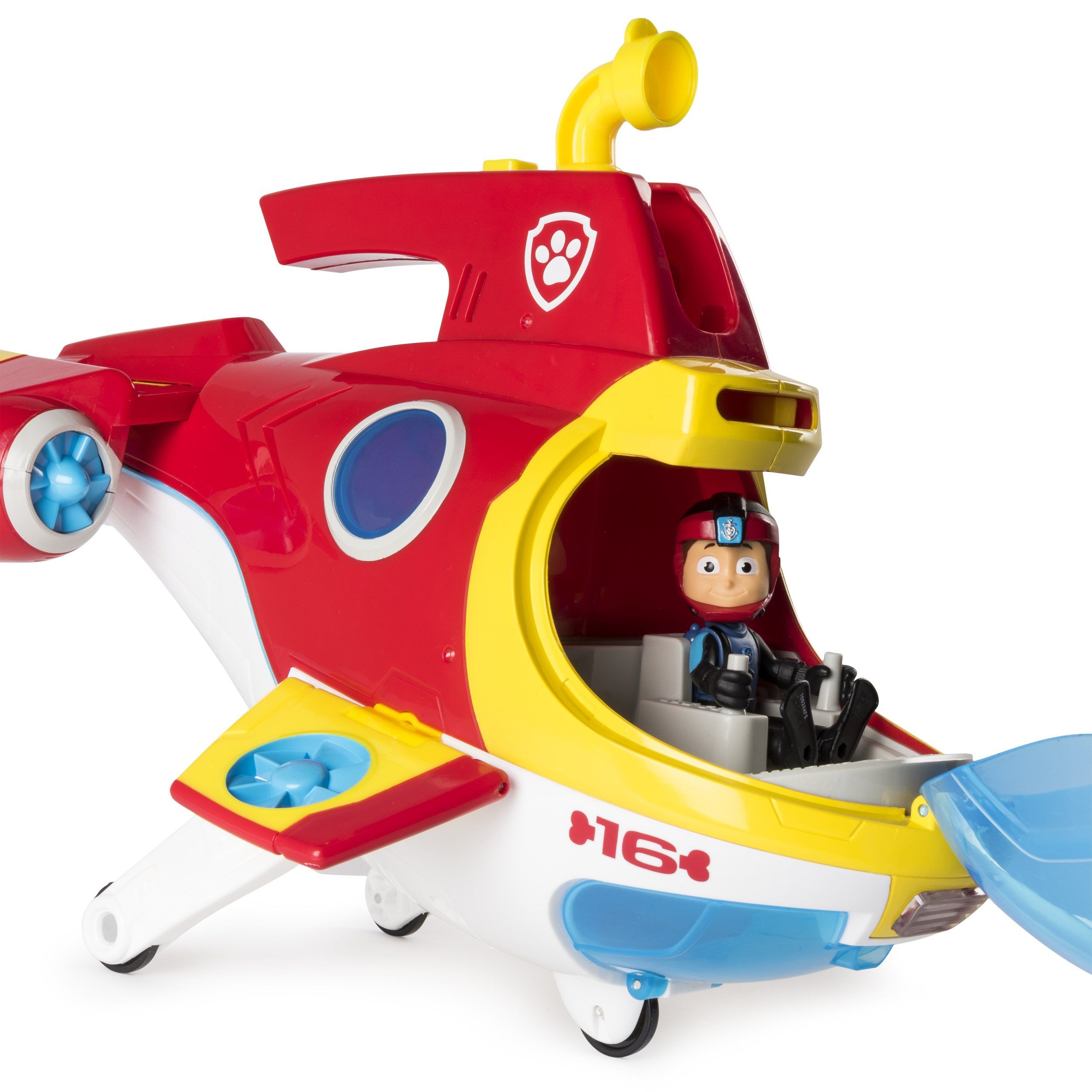 Paw Patrol â Sub Patroller Transforming Vehicle With Lights Sounds And Launcher Click Image To Review More Details It Is Paw Patrol Toys Paw Patrol Toys