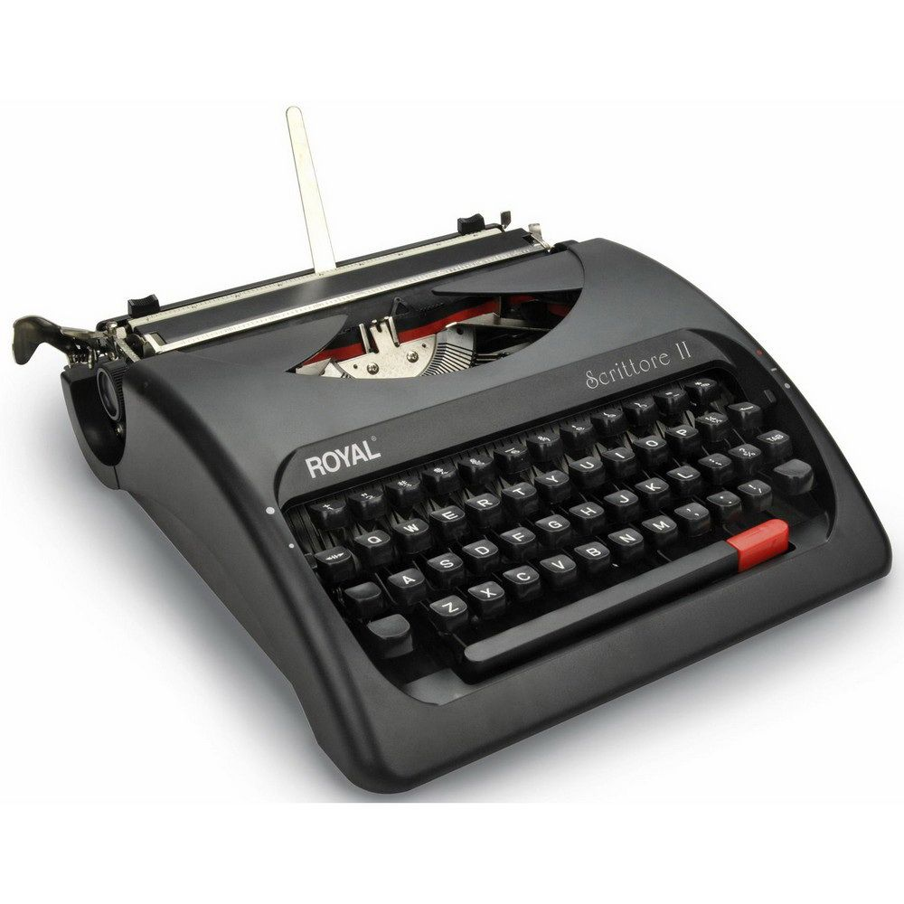 Royal Scrittore Ii Manual Typewriter Typewriter Hammacher Schlemmer Hammacher