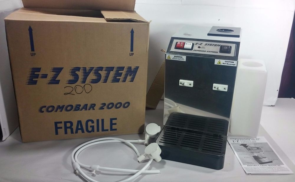 NEW Espresso Express E-Z System 200 Commercial Espresso Cappuccino ...
