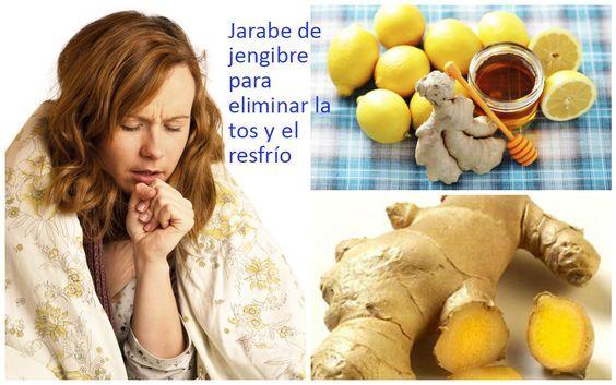 Cómo hacer jarabe de jengibre para eliminar la tos y el resfrío ~ cositasconmesh
