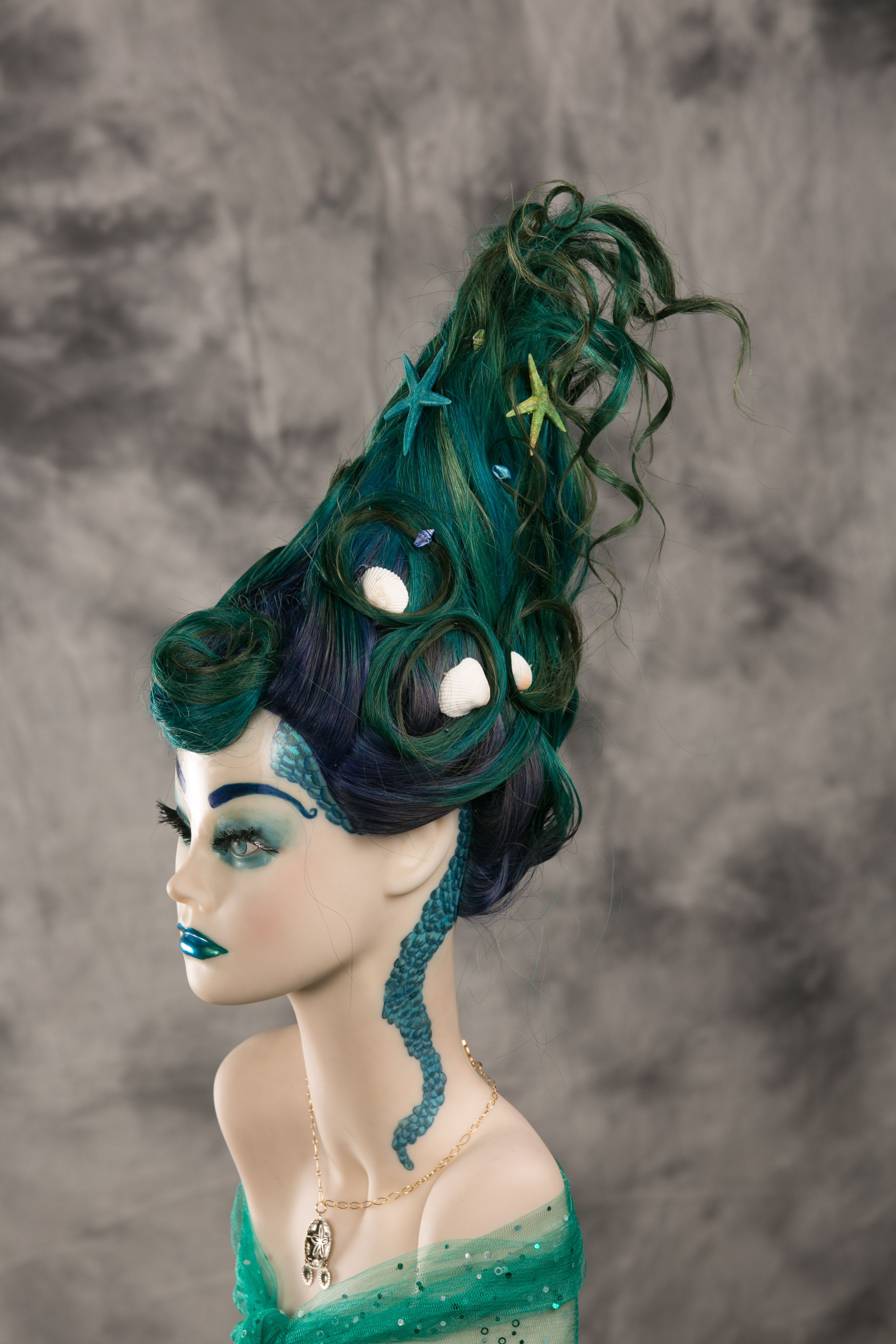 Under the sea! Katy did an awesome job. in 2019 Hair art