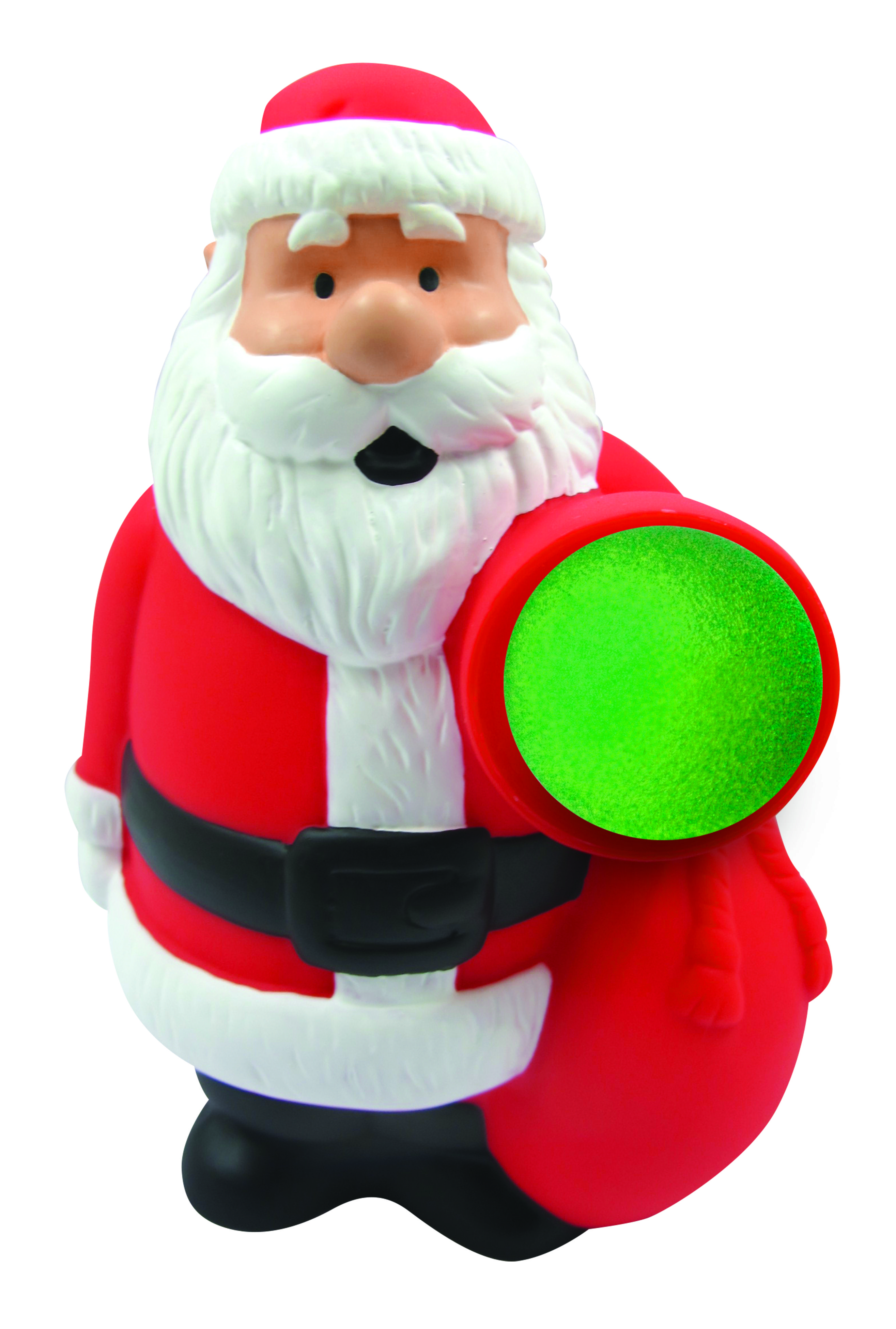 Santa Squeeze Popper Toy. Available at a retailer near you ...