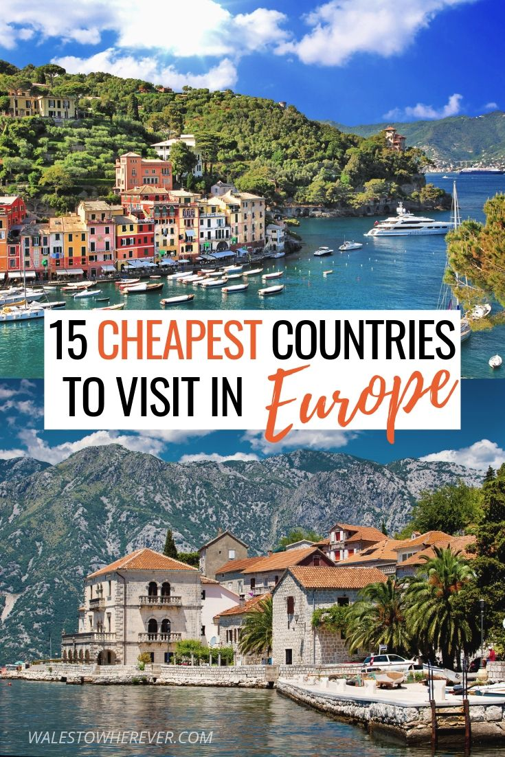 Who said travelling Europe has to be expensive? Believe it or not, it's DEFINITELY possible to travel Europe on a budget! This list of 15 of the cheapest countries to visit in Europe, that are as incredible as they are budget-friendly, will show you that budget travel in Europe really does exist. Click to read more.