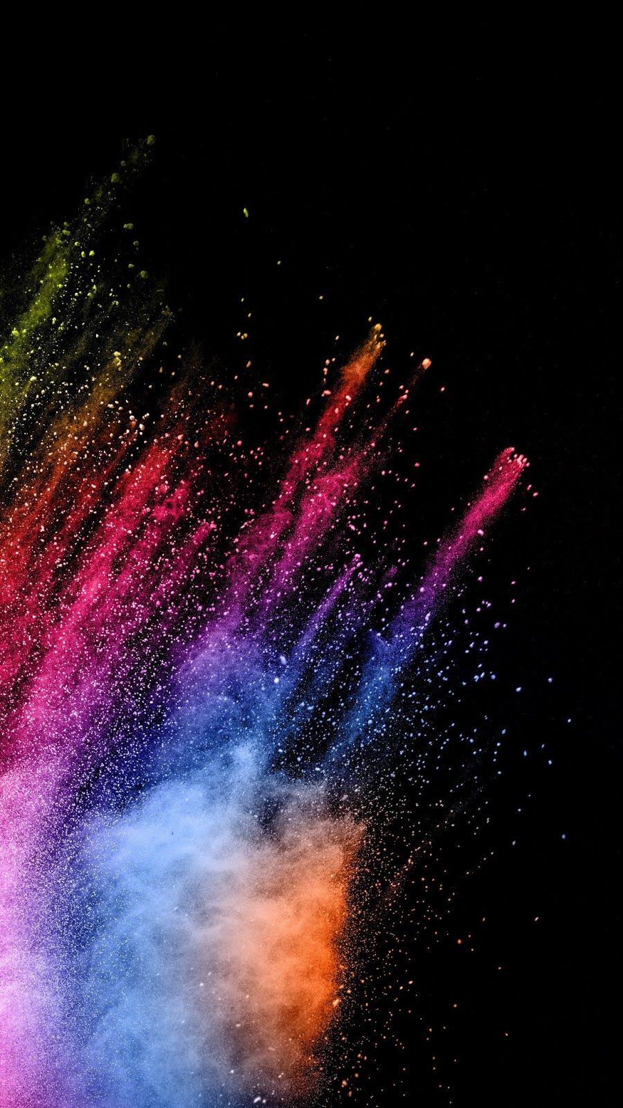 Colorful explosion beautiful wallpaper bright - Explosion wallpaper ...