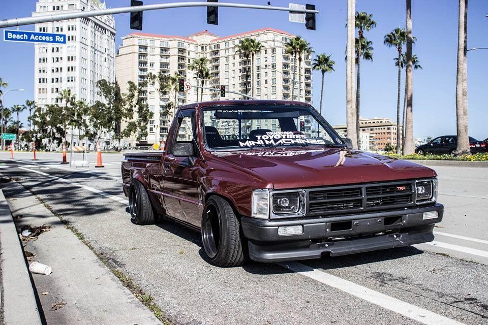 1988 toyota hilux minitruck mk4 pickup singlecab modified rh pinterest com