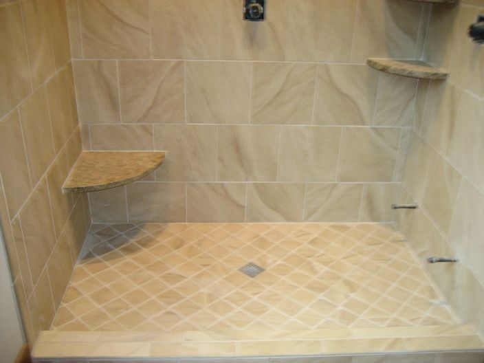 Tiling Shower Floor | Bathroom Design Ideas Mosaic Shower Tile, Shower  Floor Tile, Glass