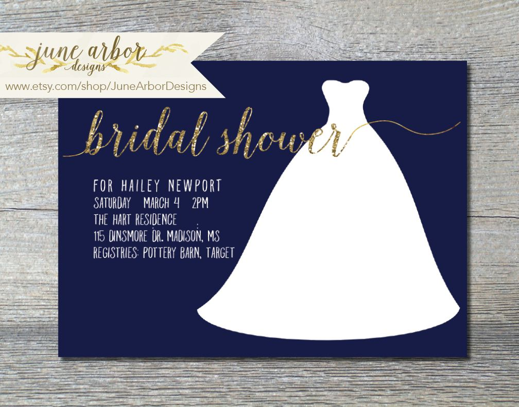 Customizable Printable Bridal Shower Invitation Available On Www