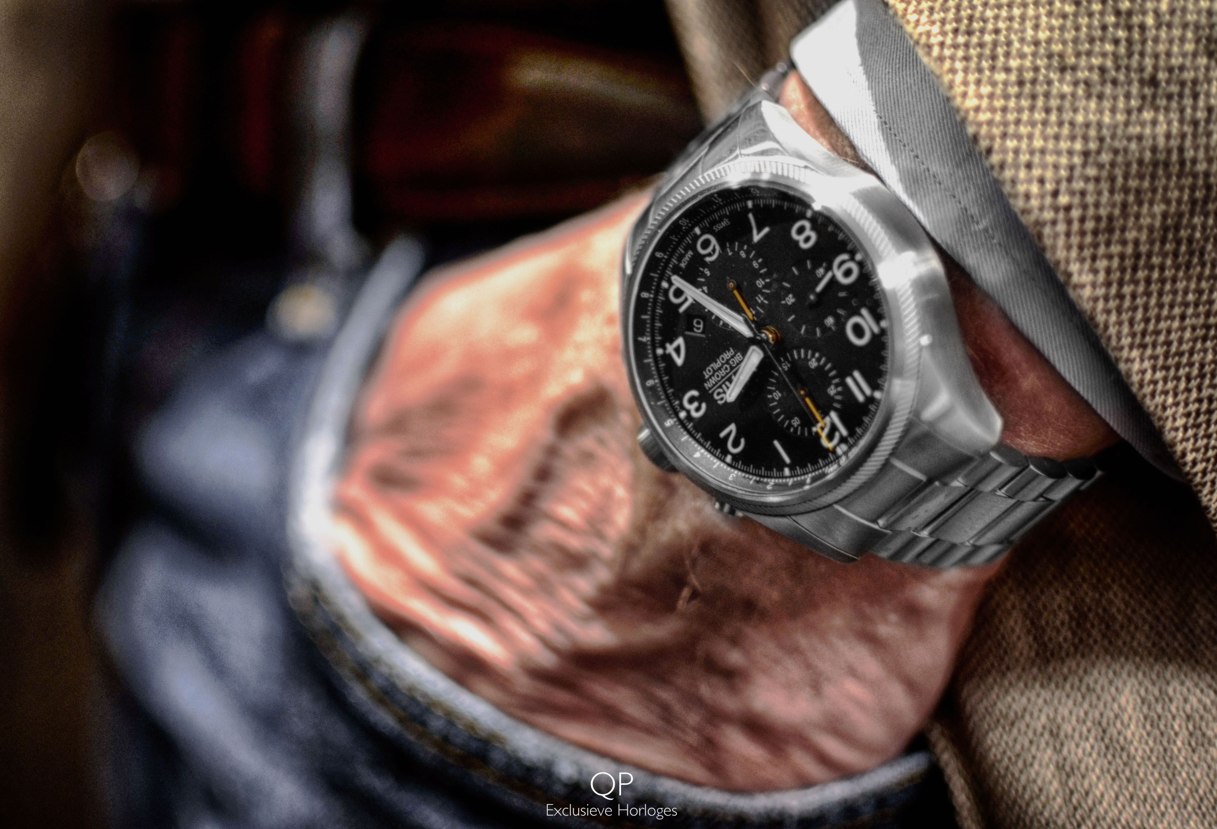 Here We Have The Characteristic Oris Big Crown Propilot Chronograph It Is Just One Of Several Products That S The Result Of Oris Long Standing Contribution To