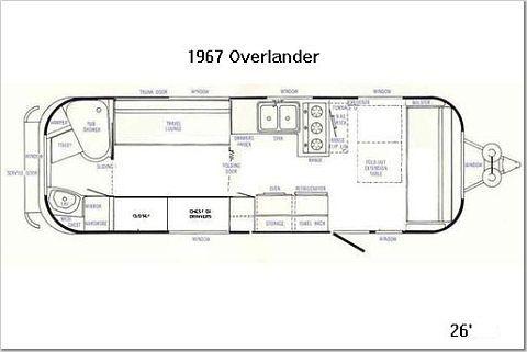 Airstream Floor Plans Land Yacht Home Plan