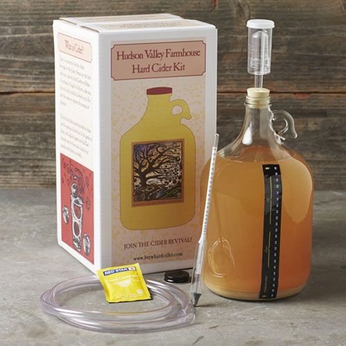make hard cider at home