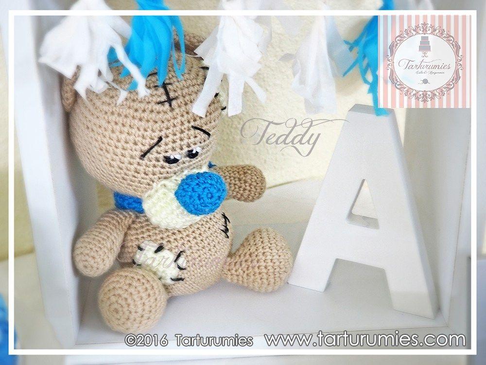 Amigurumi Patrón: Osito Teddy | Amigurumi and Crochet