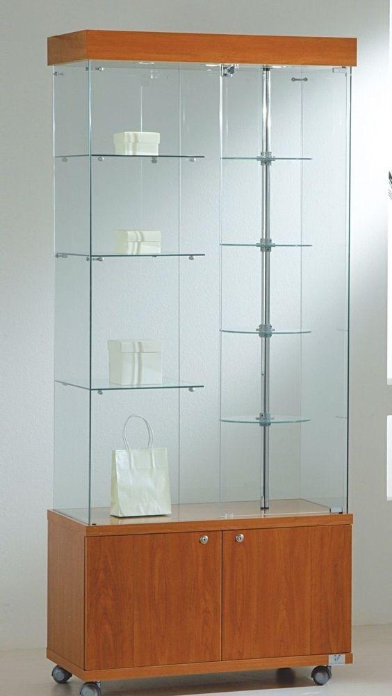 Elegant Glass Cabinet Display Case