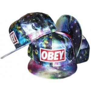 Buy Obey Galaxy Snapbacks Colors wholesale cheap snapbacks store ... a50210ad53a