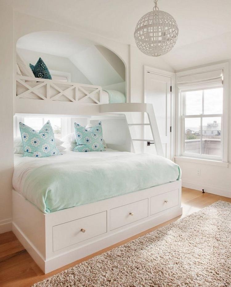 Beach Coastal Style Bedroom Decor Ideas With Images Girl Room