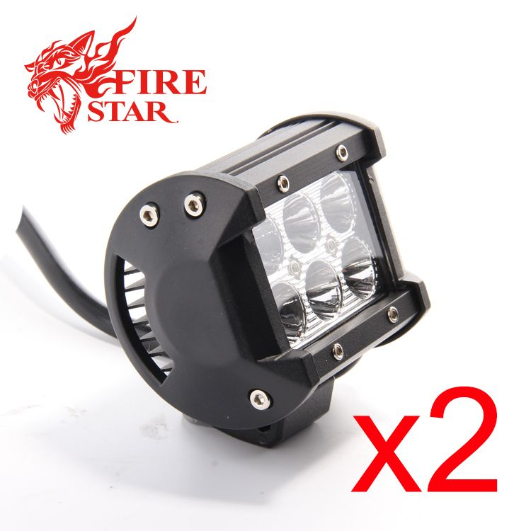 FOXSTAR One Pair 3.9 inch 18W 4x4 offroad led offroad
