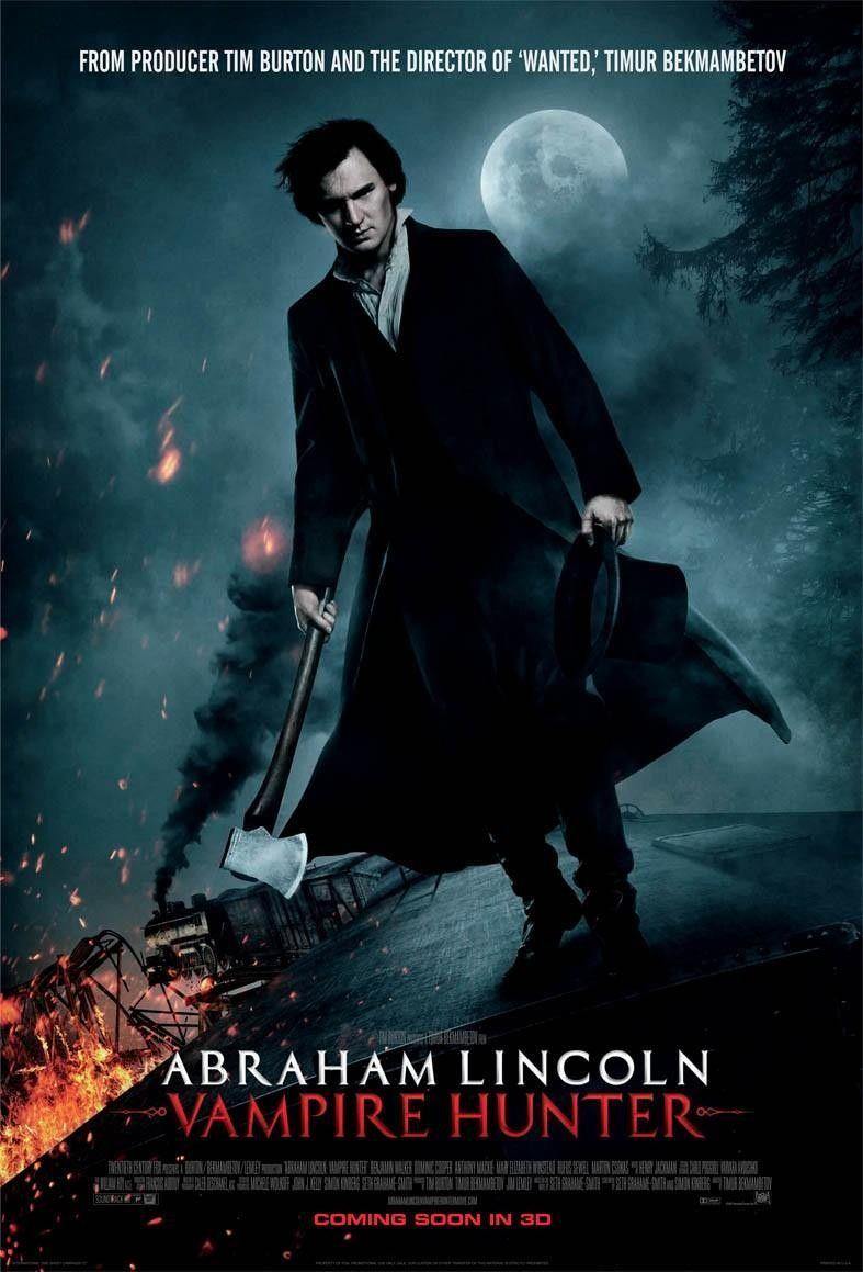 Abraham Lincoln: Cazador de Vampiros! para los que amamos los vampiros y New Orleans...efectos increibles en 3D y un adorable personaje!