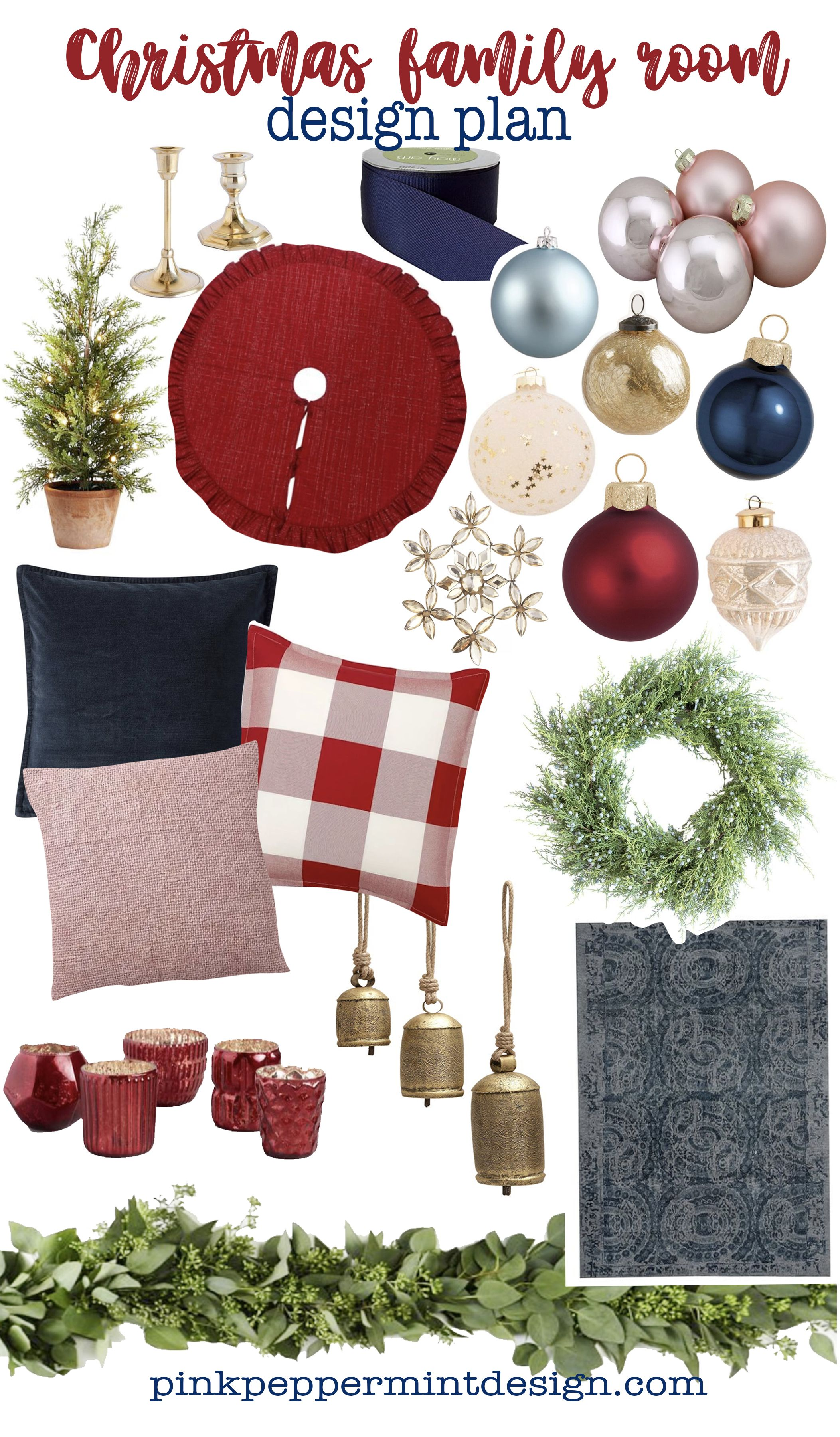 Family Room Christmas Decorating Ideas Christmas Decor