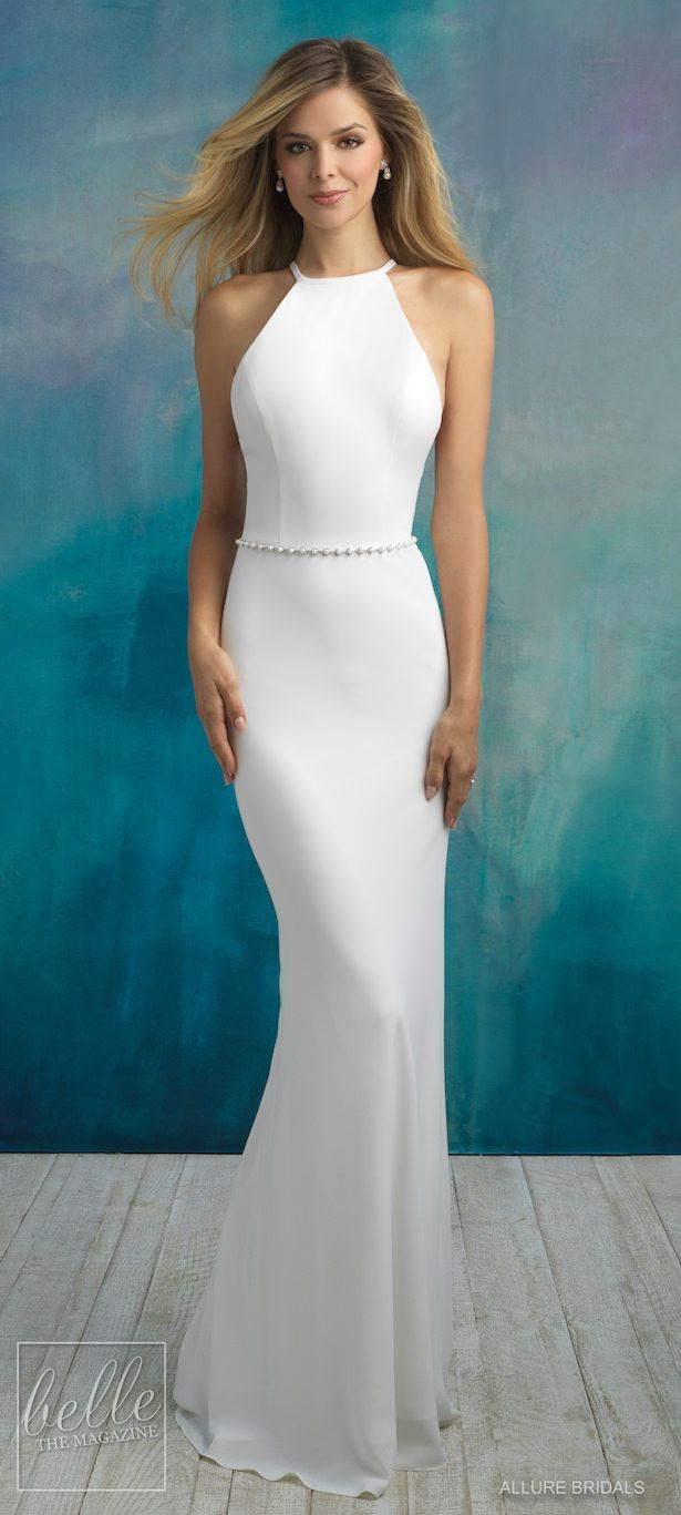 Bridal trends halter wedding dresses brides and dresses