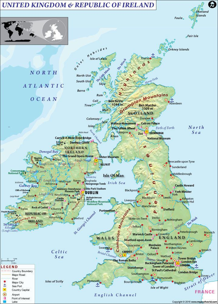 Europe 164805 map of uk and ireland map wall map 36 x 5125 europe 164805 map of uk and ireland map wall map 36 x 5125 gumiabroncs Gallery