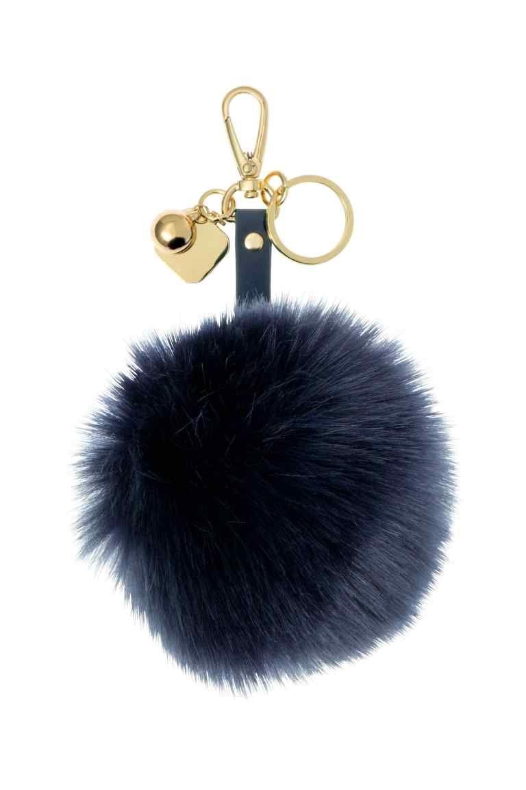 Mini llavero de bolso de caballo Llavero de pelo llaveros de