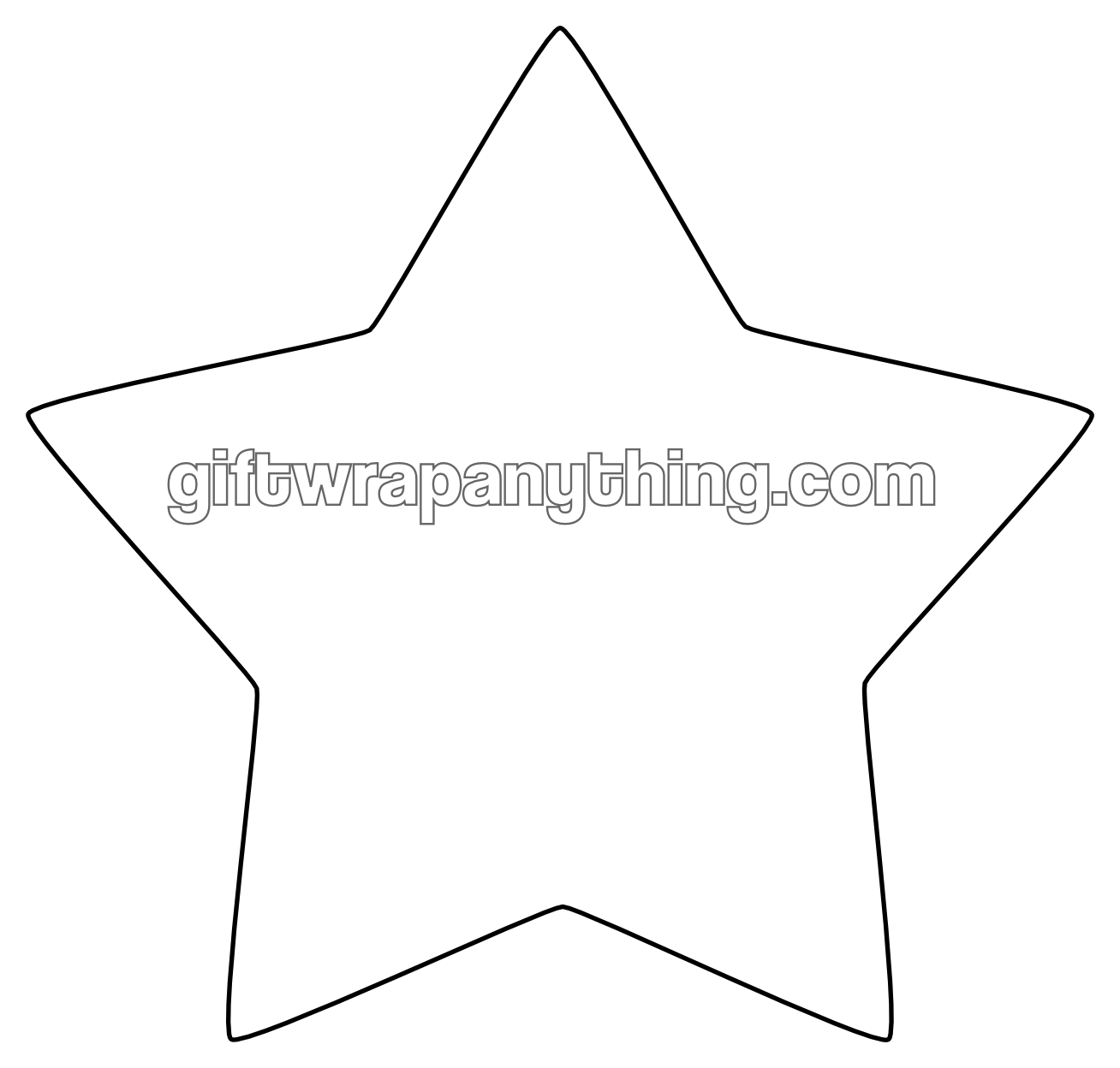 Star Cutout 1 308 1 248 Pixels