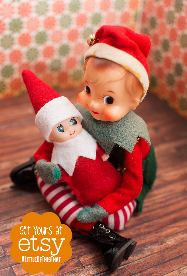 Elf On The Shelf Props Baby Elf To View More Pins Like This One