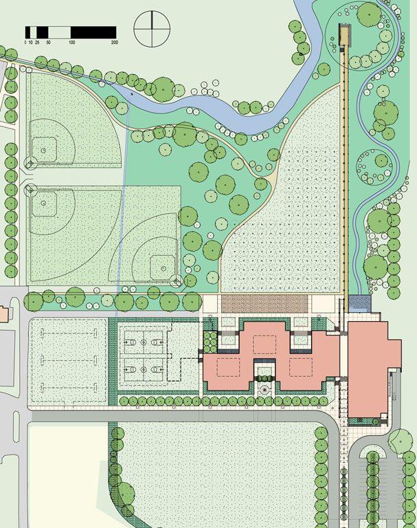 Site Plan Site Plan Rendering Site Plan Design Architecture Drawing Plan
