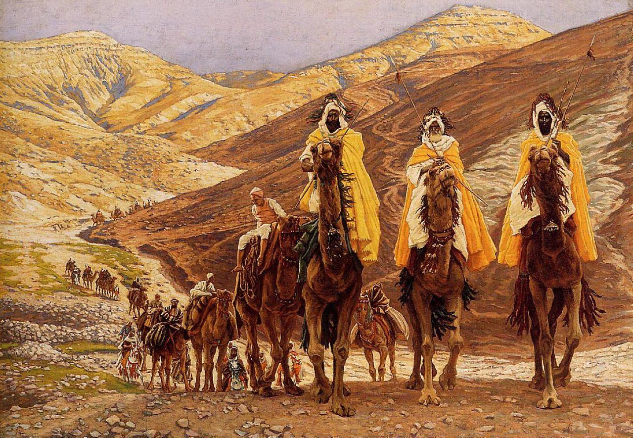 Journey of the Magi - James Tissot | Magi, Christmas paintings ...