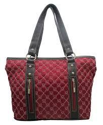 1dd24f742 Resultado de imagen para bolsos cuerina y tela combinados | bolsos ...