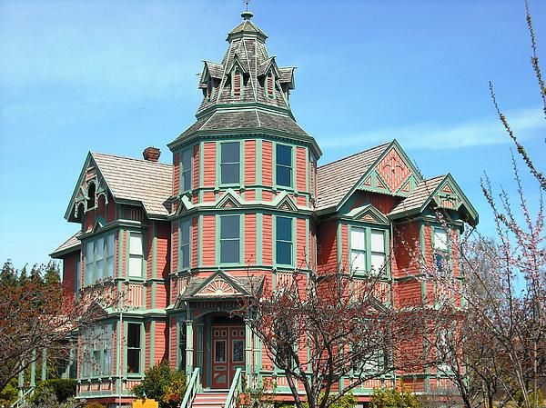 Ann Starrett Mansion Port Townsend Washington Kelly Manning