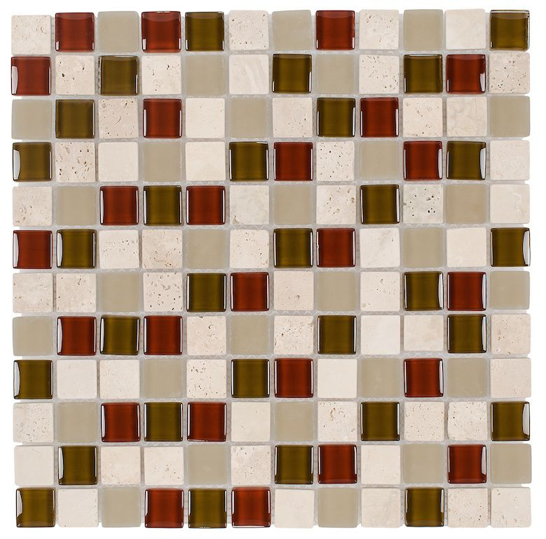 Awesome Travertine Mosaic Floor Tile
