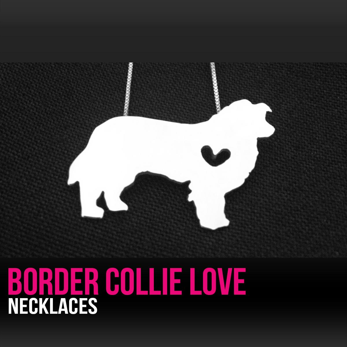 Border Collie Necklace