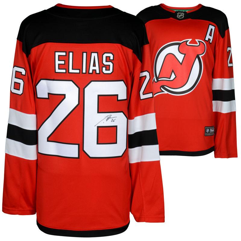 pretty nice ab87f bb056 Patrik Elias New Jersey Devils Fanatics Authentic ...