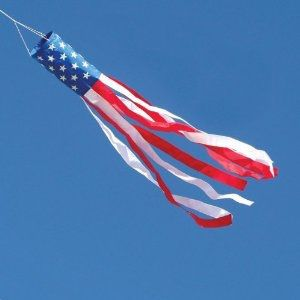 Memorial Day Craft American Flag Windsock Wind Sock Windsock Craft Weekend Crafts